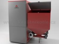 KLIMOSZ DUO INDUSTRIAL NG 150 kW Ocelový kotel se zásobníkem