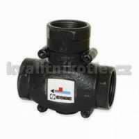 Vytisknout Třícestný ventil - termostatický ESBE VTC 511 50/32 mm (pro zplynovací kotle)