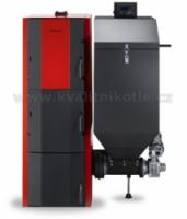 DAKON FB2 -A30, 6 článků 30 kW Litinový automatický kotel +set zhášecí zařízení