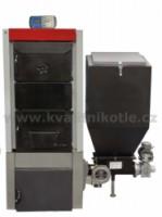 Automatický kotel TIGER 35 kW - 7čl
