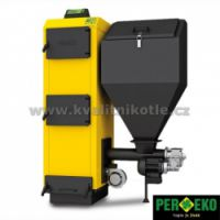 Kotel se zásobníkem Per-Eko KSRM 25 kW -otočná retorta