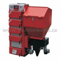 Kotel s tlakovým podavačem STALMARK DUO BOSS 29 kW