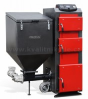 Kotel se zásobníkem GALMET EKO-GT KWPD 25 kW DUO S vodním roštem