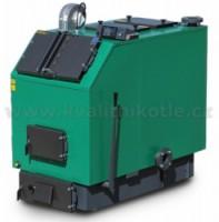 MODERATOR UNICA MAX - 80 kW s ventilátorem a řízením Kotel na dřevo a štěpky