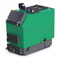 MODERATOR UNICA Sensor - 40 kW s ventilátorem a řízením Kotel na dřevo a štěpky