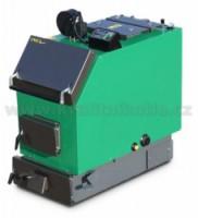 MODERATOR UNICA Sensor - 20 kW s ventilátorem a řízením Kotel na dřevo a štěpky