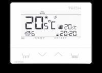 Pokojový termostat TECH ST-292 V2 S týdenním programem, bezdrátový