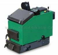 MODERATOR UNICA Sensor - 10 kW s ventilátorem a řízením Kotel na dřevo a štěpky