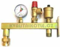 Bezpečnostní ventil WATTS 1,5 bar pro instalaci UT [prislusenstvi]